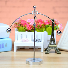 New Early Fun Development Educational Desk Toy Gift Newtons Cradle Steel Balance Ball Physics Science Pendulum toys for children