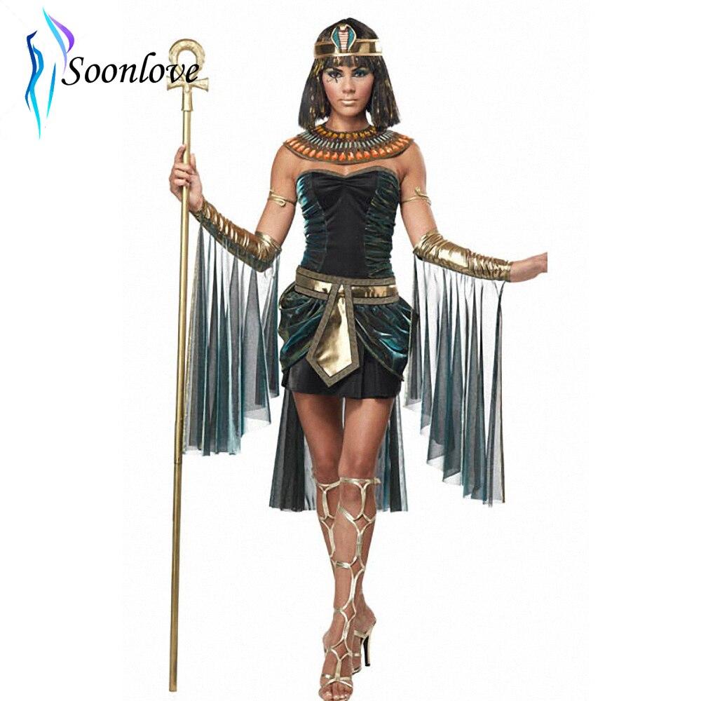 Rochie de lux sexy pentru femei de lux Cleopatra Egipt Costum pentru - Costume carnaval