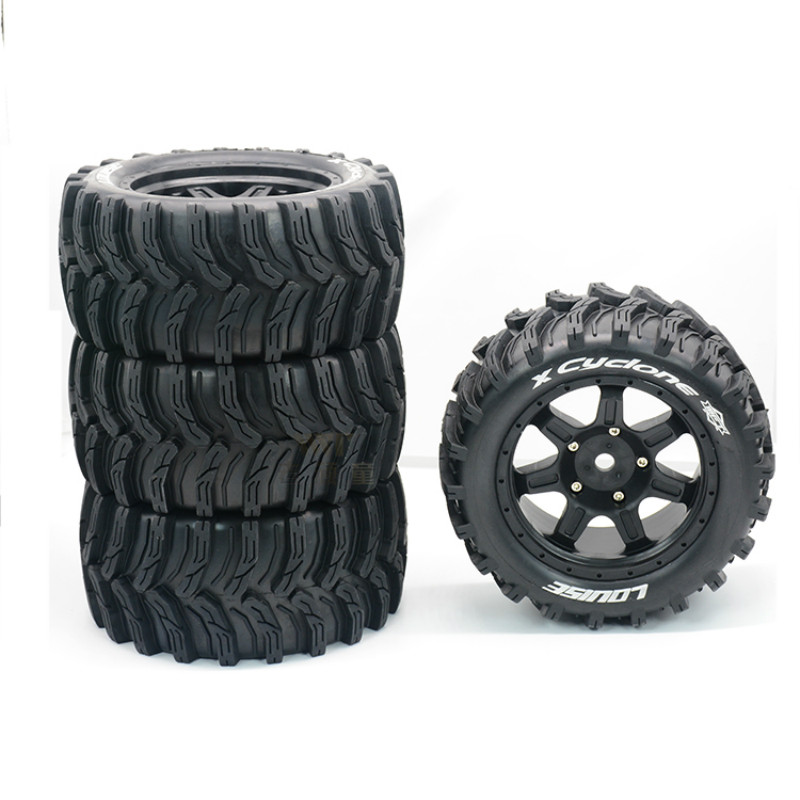 Wide Wheel Wear Resistant Tire for 1/5 TRAXXAS X MAXX XMAXX 6s 8s RC Truck Car Parts|Parts & Accessories| |  - title=