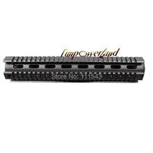 Funpowerland free shipping Long Version Generalism RIS Handguard 12 inch AR Quad Rail