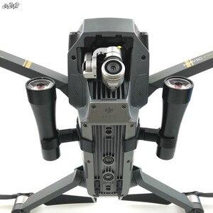 Image 1 - 1 bộ Đêm Bay DẪN Chiếu Sáng Ánh Sáng Sử Dụng của AA pin nhiếp ảnh Phụ Tùng đèn cho DJI Mavic Drone pro phụ kiện