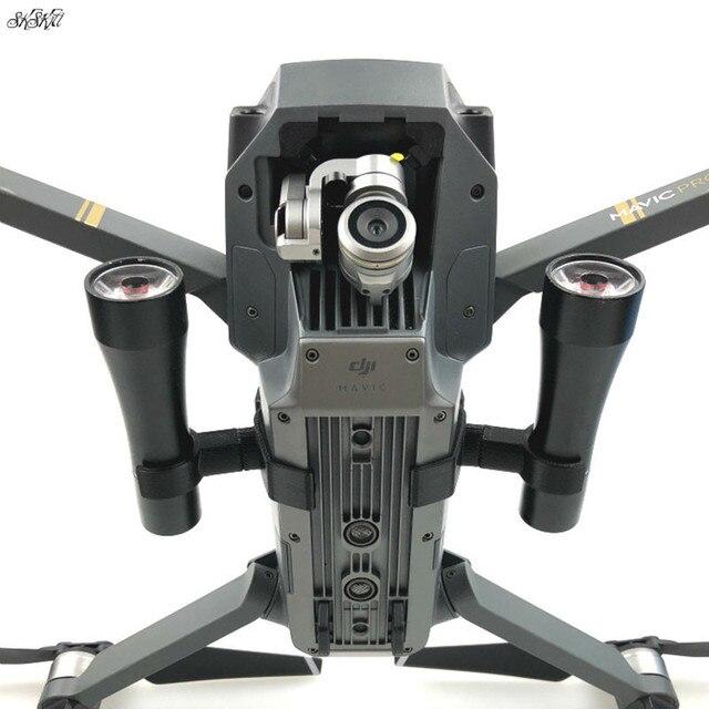1 bộ Đêm Bay DẪN Chiếu Sáng Ánh Sáng Sử Dụng của AA pin nhiếp ảnh Phụ Tùng đèn cho DJI Mavic Drone pro phụ kiện
