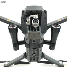 1 takım Gece Uçuş led ışık Aydınlatma Kullanımı AA pil fotoğraf Yedek Parça lamba DJI Mavic pro Drone Aksesuarları için