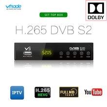 Hot sale Satellite TV Receiver VMADE V5 HD H.265 Receptor Su