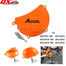 Cover-Guard-Protector Clutch-Case Plastic Motorcycles for SXF XCF EXC XCW 450-500/Mx/Enduro/..