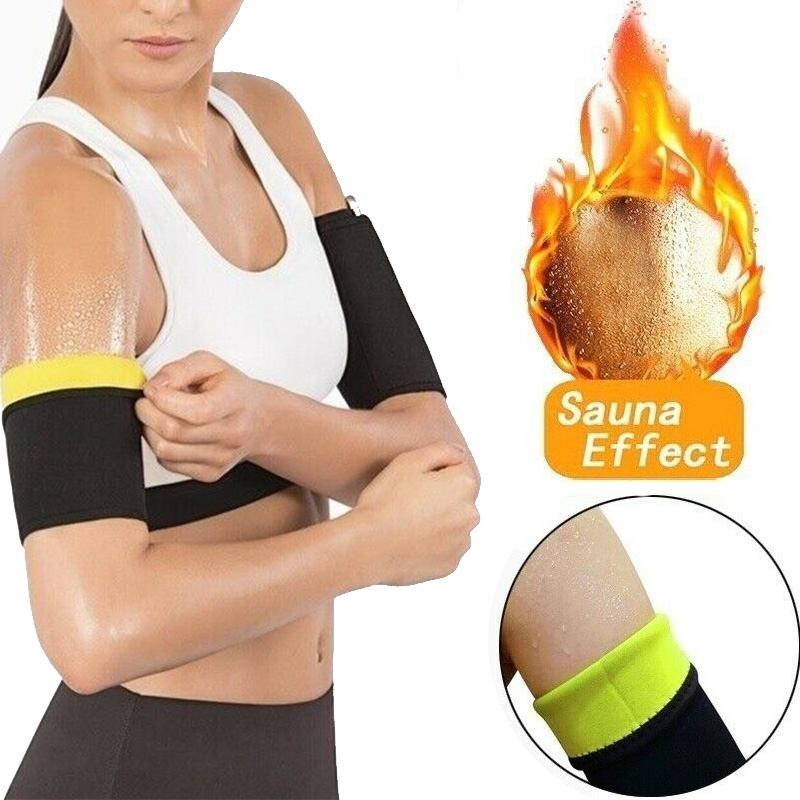1Pair Women Arm Shaper Slimming Trimmer Shapers Arm Control Shapewear Adelgazar Sleeve Slimmer Arm Pad  Weight Loss Product