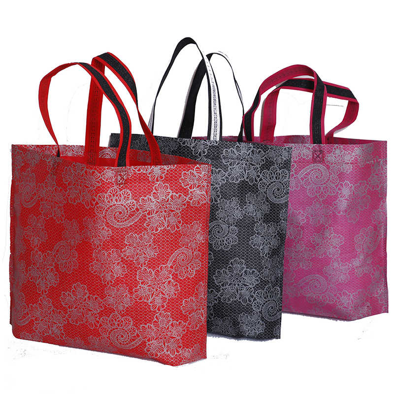 Women Lady Foldable Shopping Bag Casual New Portable Large Nylon Tote Waterproof Thick Handbag