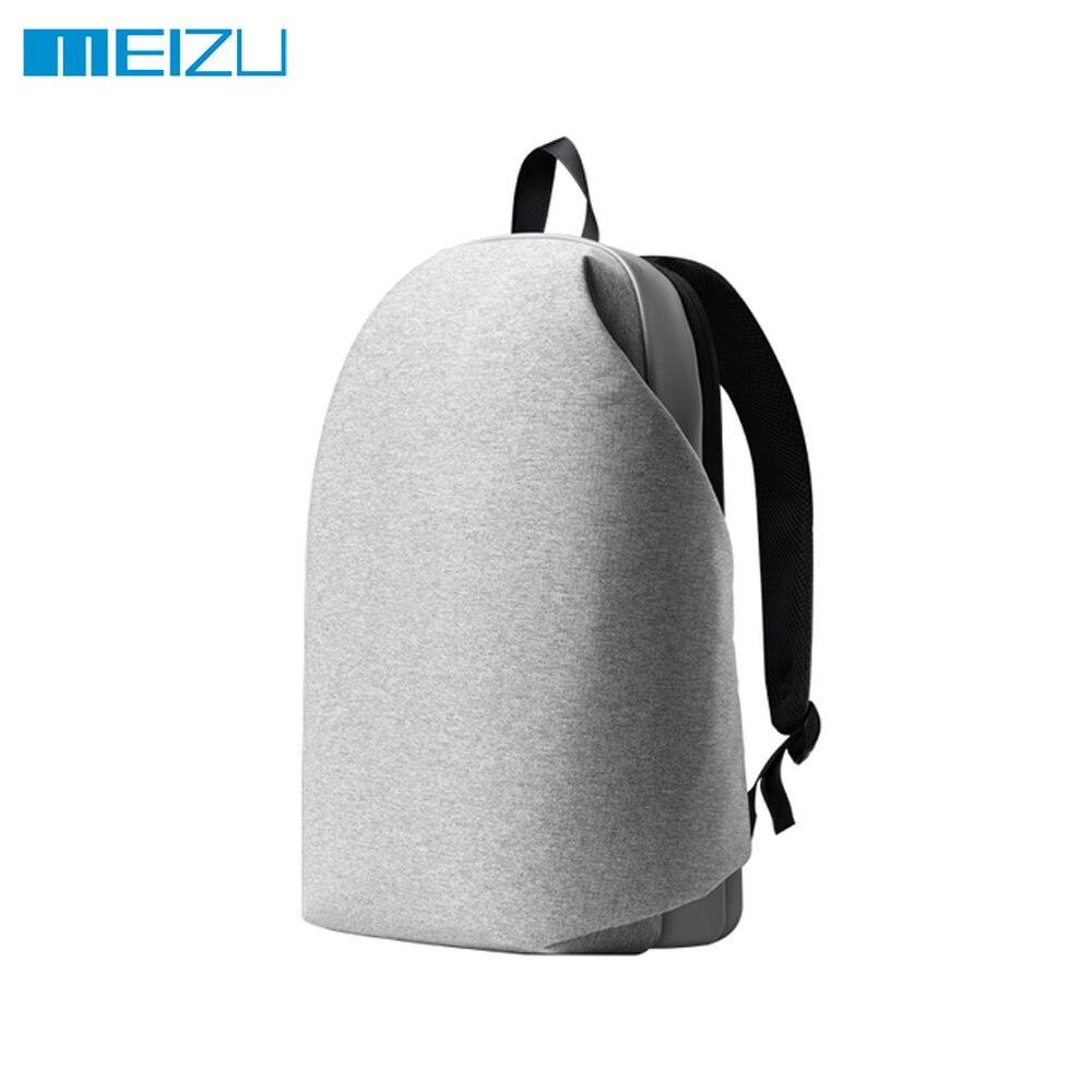 Оригинал Meizu рюкзак Для женщин Для мужчин Классические Бизнес Рюкзаки элегантный дизайн студентов Сумки большой Ёмкость 15.6 дюймов Сумка дл...
