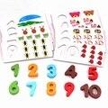 Alta Qualidade Montessori de educação infantil Brinquedos De Madeira de Matemática Matemática Matemática Material do Brinquedo para o Presente Das Crianças Dos Miúdos W022