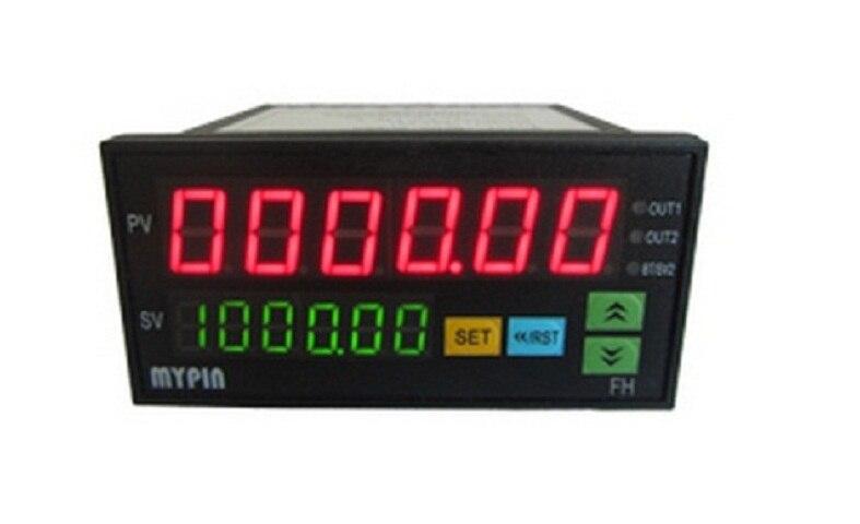 Digital Counter Mini Length Batch Meter 1 Preset Relay Output Count Meter Practical Length Meter 90-260V AC/DC hour meter  цены