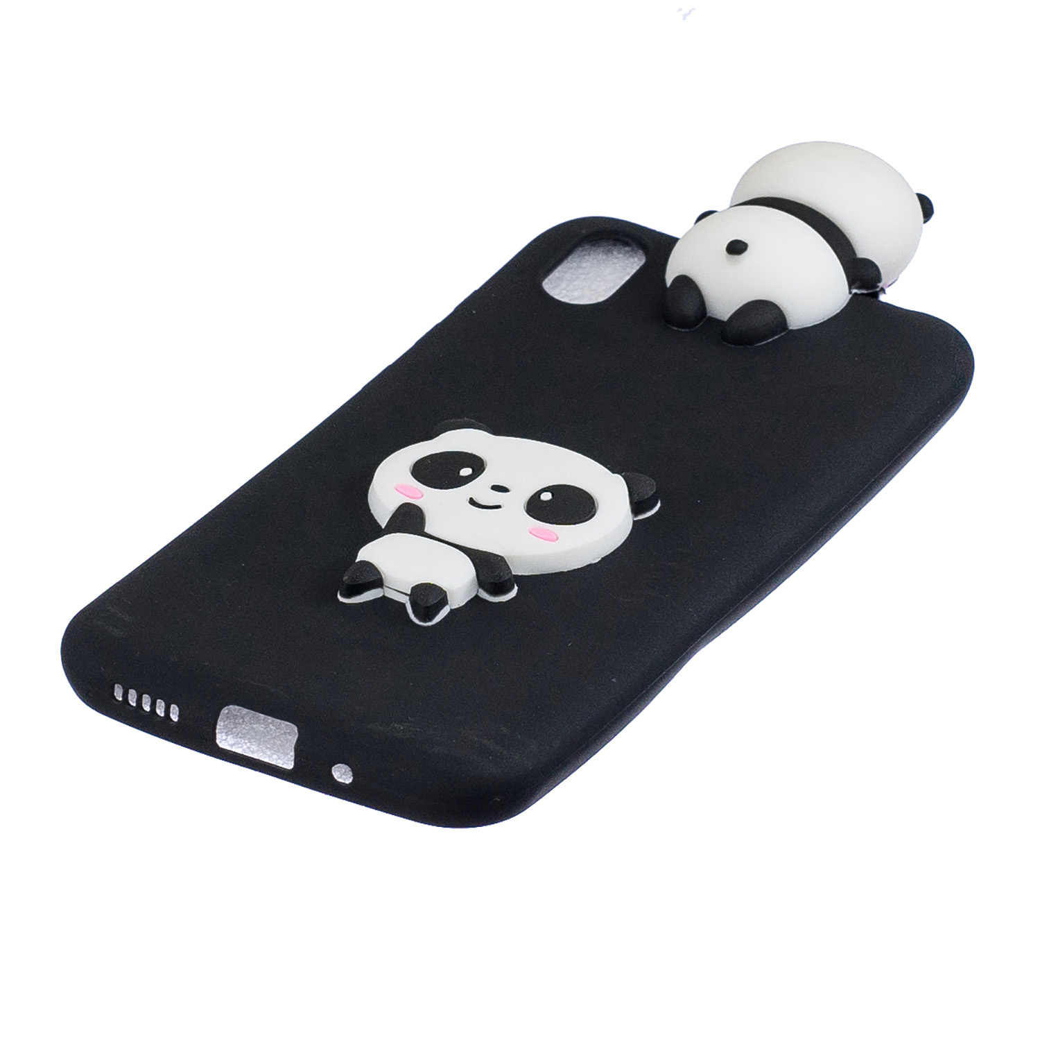 Silicone cover For Case Huawei Y5 2019 case For Y5(2019)Coque Huawei Y5 2019 Back Cover Huawei Honor 8S 3D Panda TPU Soft case