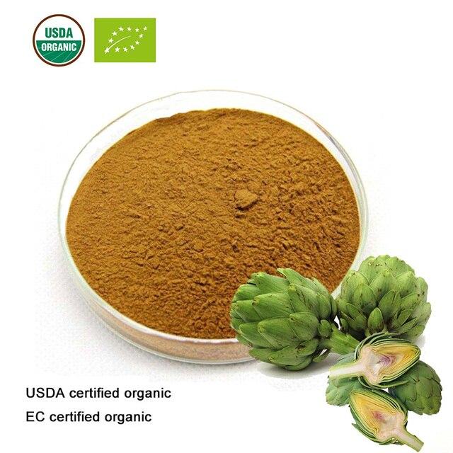 USDA and EC Certified organic Artichoke leaf extract 10:1 Cynarin