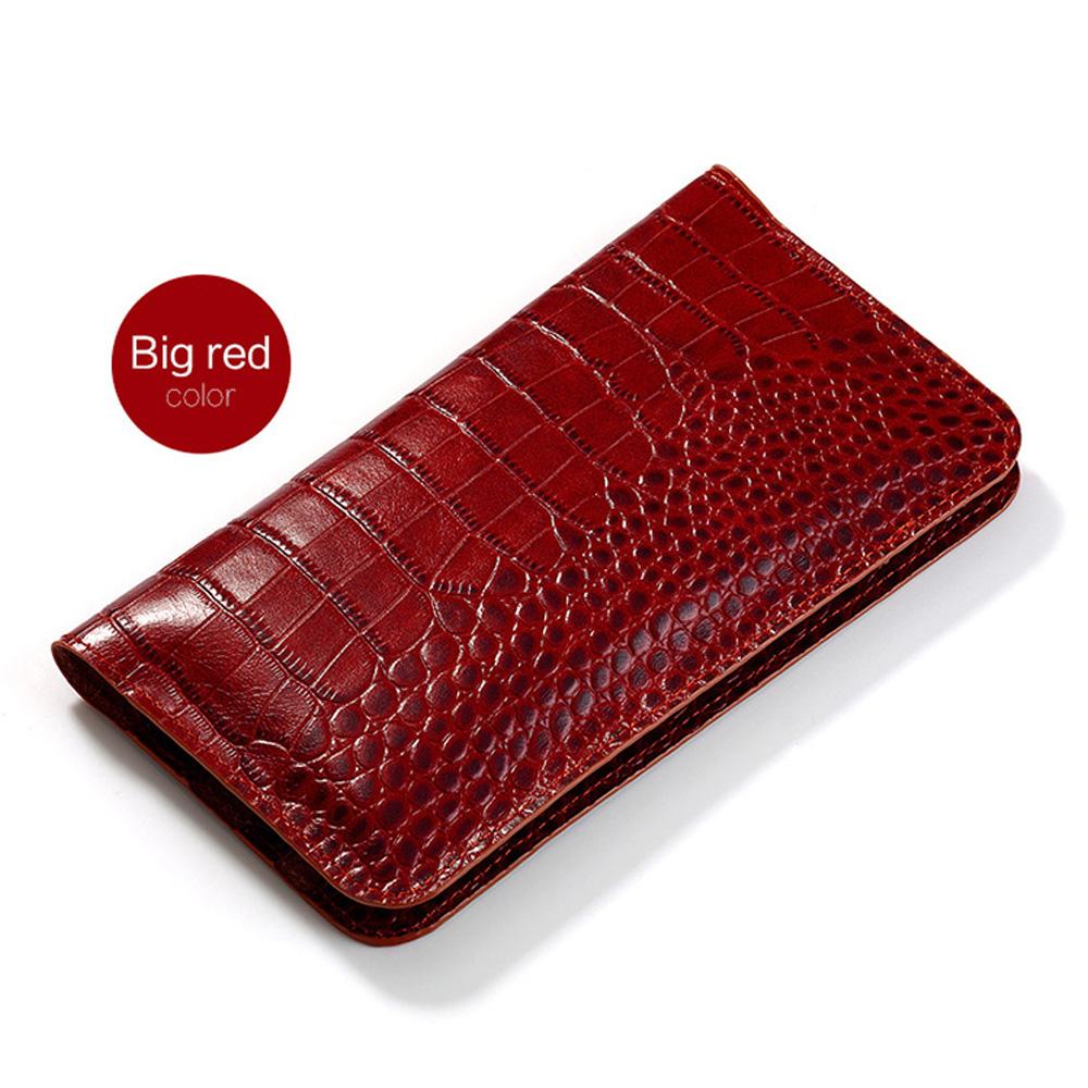 Flip Genuine Leather case For Redmi Note 5 plus phone case Crocodile skin Wallet Bag Note4 Plus 6a 8 A2 lite Max 3 Mix handbag