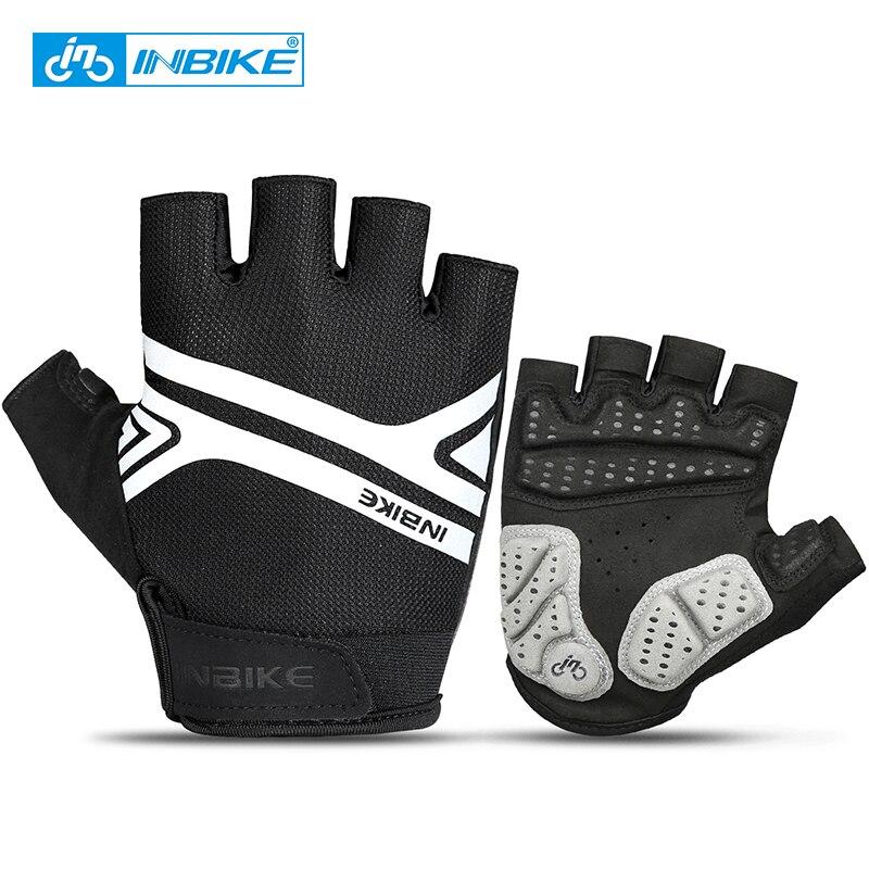 Guantes de ciclismo INBIKE medio dedo guantes de moto a prueba de - Ciclismo