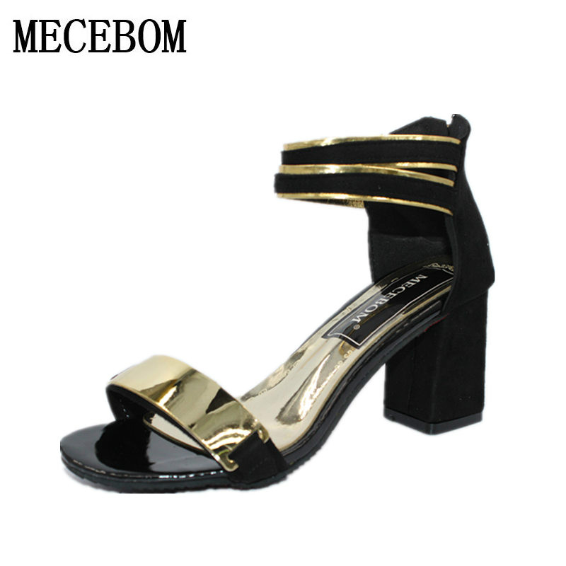 Summer Women Sandals Open Toe Flip Flops Womens Sandles Thick Heel Women Shoes Korean Style Gladiator Platform Wedge Shoe 808W