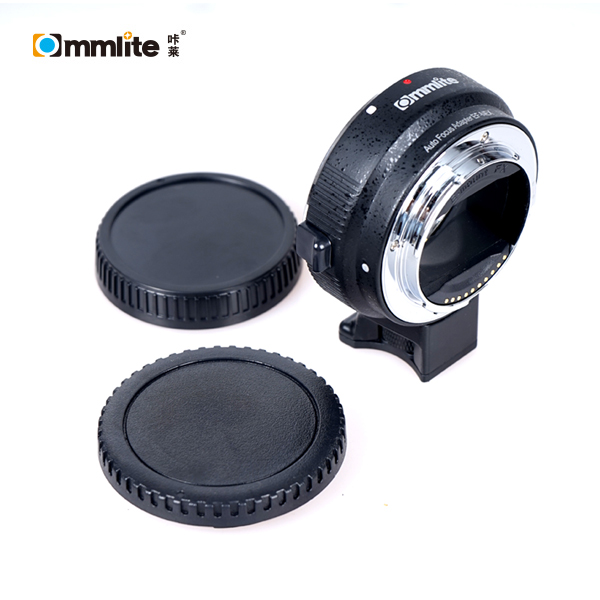Commlite Auto-focus Mount Adapter EF-NEX for Canon EF/EF-S Lens to for Sony NEX with IS Exact Exposure camera auto focus lens adapter ii for canon eos ef ef s to sony full frame nex a7 a7r