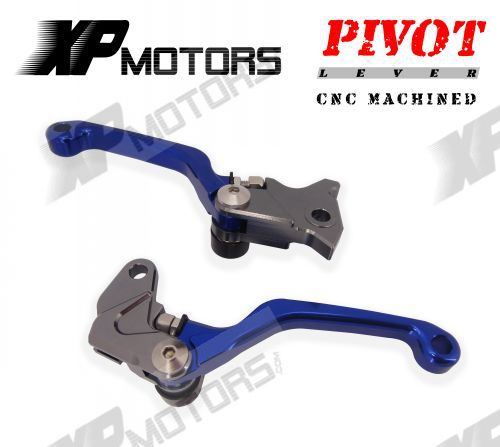 Dirt Bike CNC Pivot Brake Cluth Levers For Kawasaki KLX250 D-TRACKER 2008 2009 2010 2011 2012 2013 2014 motorcycle pivot brake clutch levers cnc golden brake clutch lever for kawasaki klx 150 s 2009 2010 2011 2012