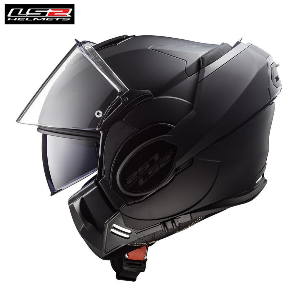 LS2 Motorcycle Helmet Modular Full Face Flip Up Casco Casque Capacete Moto Open Helm Helmets Kask Touring Chopper Valiant Helmet цена 2017