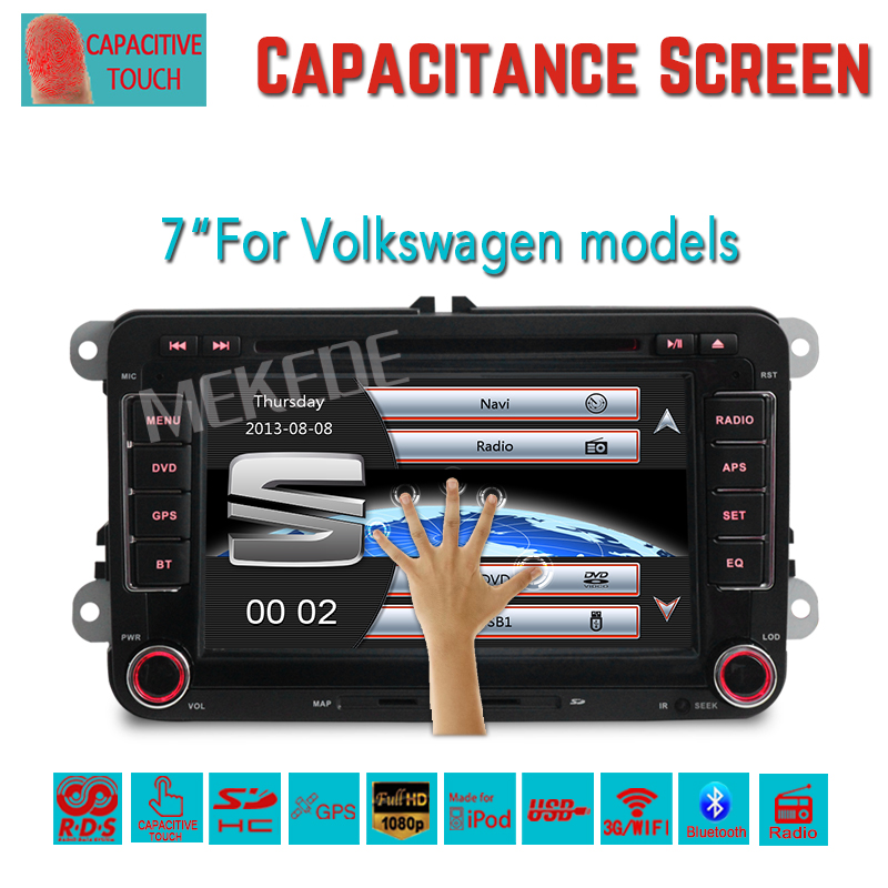 7inch Capacitive touch screen Car DVD player for Seat Altea Leon Toledo Altea XL support 3G