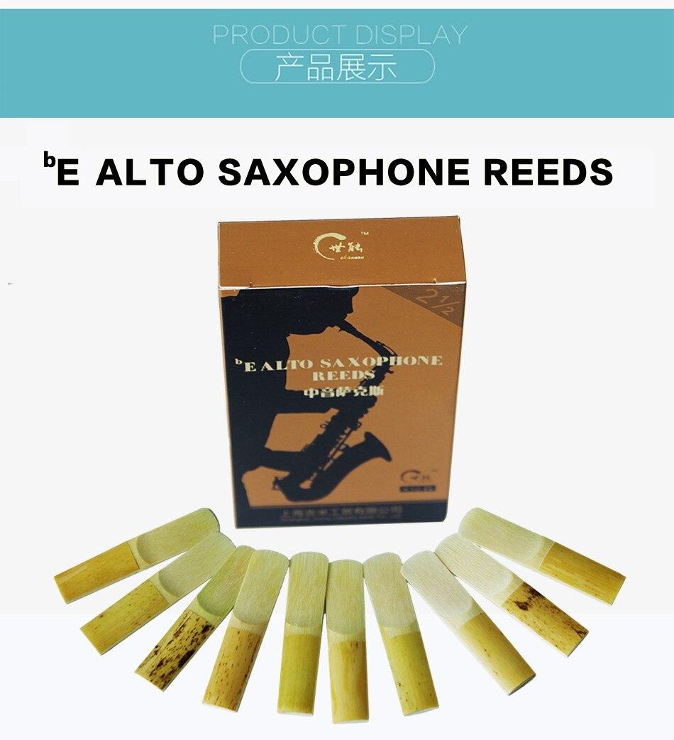 saxofone juncos saxfone acessórios 10 pçs caixa