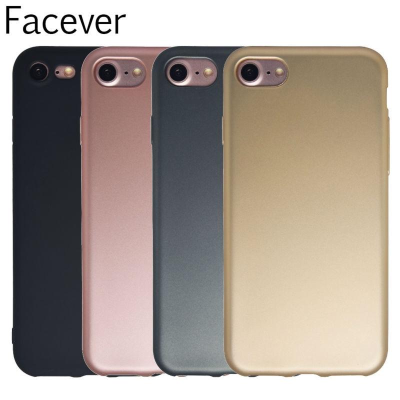 Funda de teléfono simple para iPhone 5 5S SE Acabado metálico - Accesorios y repuestos para celulares