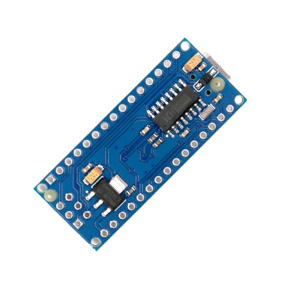 HTB1xYSGXIrrK1Rjy1zeq6xalFXaN - 1pcs Mini USB Nano V3.0 ATmega328P CH340G 5V 16M Micro-controller board for arduino NANO 328P NANO 3.0 without USB