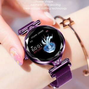 Image 2 - H1 smart watch women heart rate blood pressure fitness pedometer female Bracelet physiological cycle IP67 waterproof smartwatch