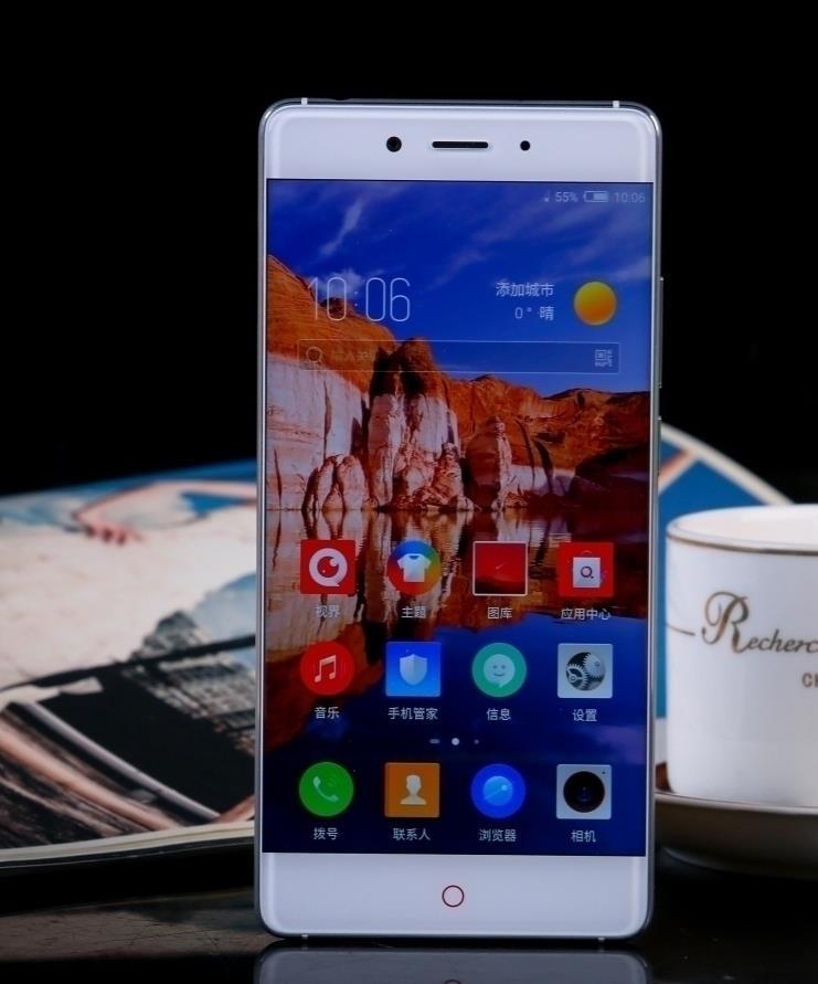 Цена за Nubia z11 snapdragon 820 cpu 4 ГБ/6 ГБ ram 64 ГБ/128 ГБ rom 5.5 дюймов без рамки 2.5d стекло экрана 4 г fdd lte android 6.0 отпечатков пальцев