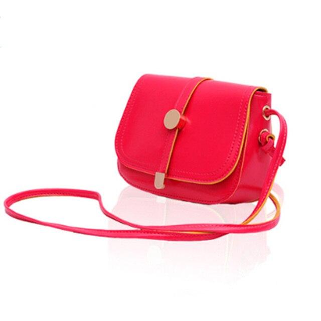 candy color shoulder bag brand women summer sling bag mini ...