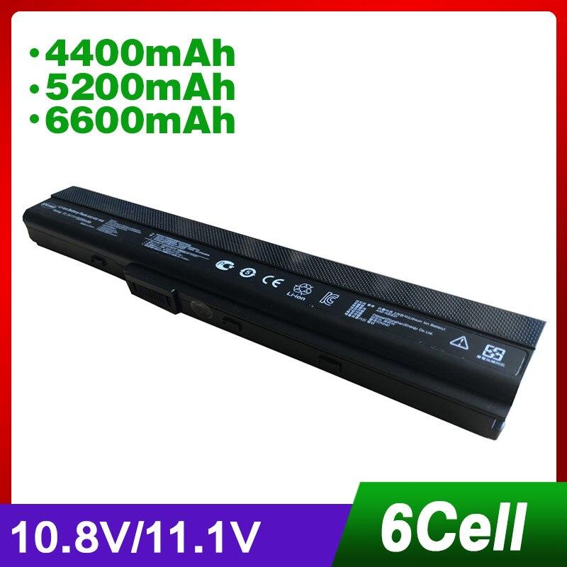 Laptop Battery For ASUS A32-K52 K42DE K42DQ A42-K52 K42 K42D K42DR K42F K42J K42JA K42JB K42JC K42JE K42JK K42JP K42JR