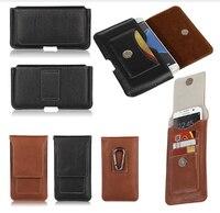 Belt Phone Holster Fundas For Samsung Galaxy S2 S3mini S4mini A3 A3 2016 Leather Case Fashion