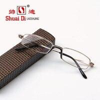 Красивый . и . бренд высокого - класса мужчин и женщин дальнозоркостью очки старые старения HD стеклянный объектив дальнозоркостью очки