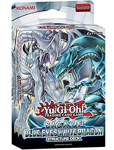 YuGiOh! Saga of Blue-Eyes White Dragon UNL Ed Structure Deck - Cards Only-No Box image