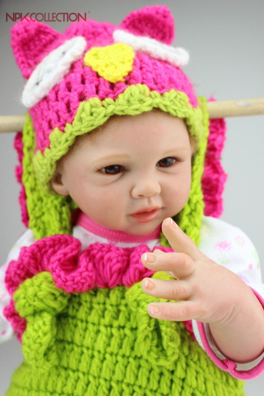 NPK reborn doll with soft real gentle touch hotsale lifelike reborn baby dolls fashion doll silicone vinyl