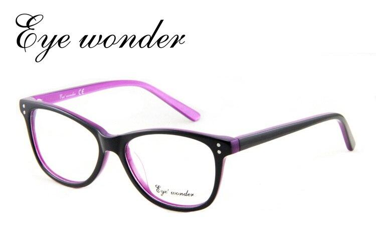 Eye wonder Femmes Vintage Lunettes Cadres Designer Optique Cadre Acétate  Spectacle Oculos de grau Lunettes Lunettes accessoires bfe34da8697f