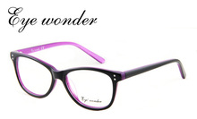 Eye wonder Women Vintage Glasses Frames Designer Optical Frame Acetate Spectacle Oculos de grau Lunettes Eyewear accessories