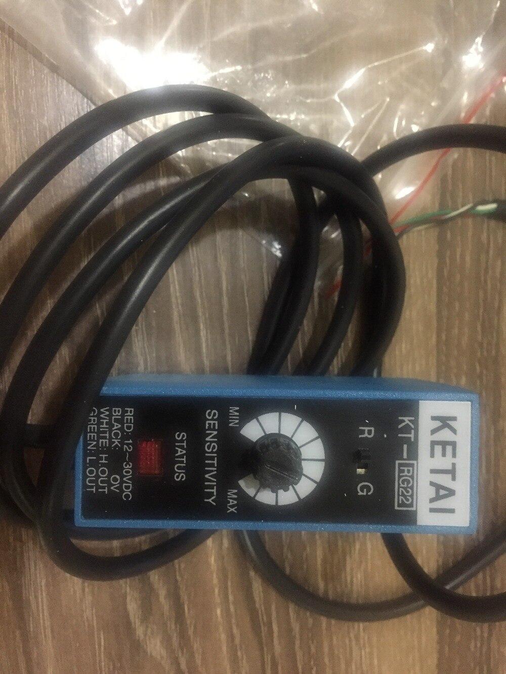 Capteurs photoélectriques de couleur de KETAI de KT-RG22, commutateur photoélectrique de couleur faisant électromécanique