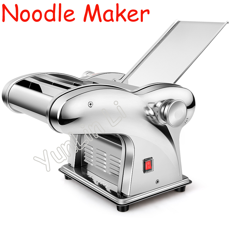 Noodle Maker Household Electric Full-Auto Noodle Making Machine Stainless Steel Multfnctional Noodle Cutting Machine JCD-10 jiqi household hand noddles pasta maker machine stainless steel manual noodle press making noodle cutting machine 0 5mm 2 5mm