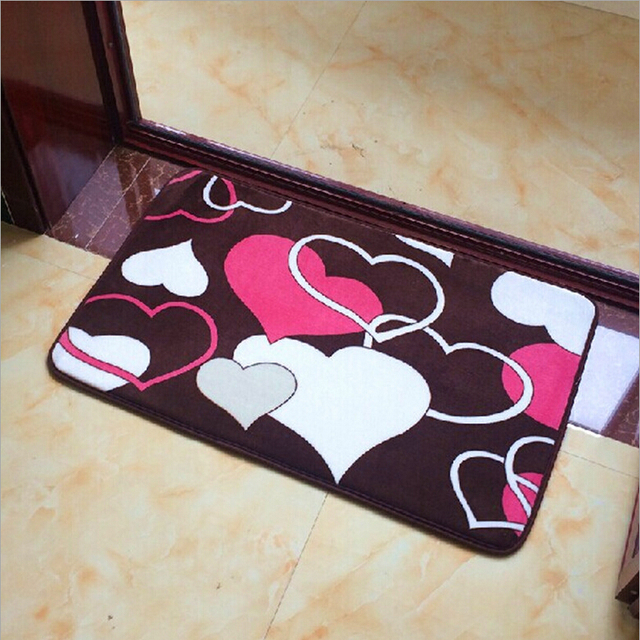 Modern Floor Carpet Kitchen Bath Mat,Non Slip Bathroom Carpet Rug