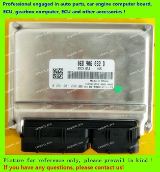 For car engine computer board/VW   Passat ECU/Electronic Control Unit/06B906032D 0261201230/06B906032 0261207970/06B 906 032