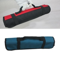 Urijk Oxford Fabric Electrician Storage Case Waterproof Durable Tool Bags Electrician Multi Functional Cylinder Pocket