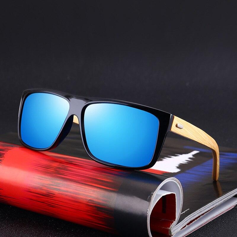 08cd3674e7 KOTTDO 2018 Cool Men Bamboo Leg Sunglasses Driving Square Glasses Cheap Sun  Glasses Goggle Retro Vintage Eyeglasses Oculos UV400-in Sunglasses from  Apparel ...