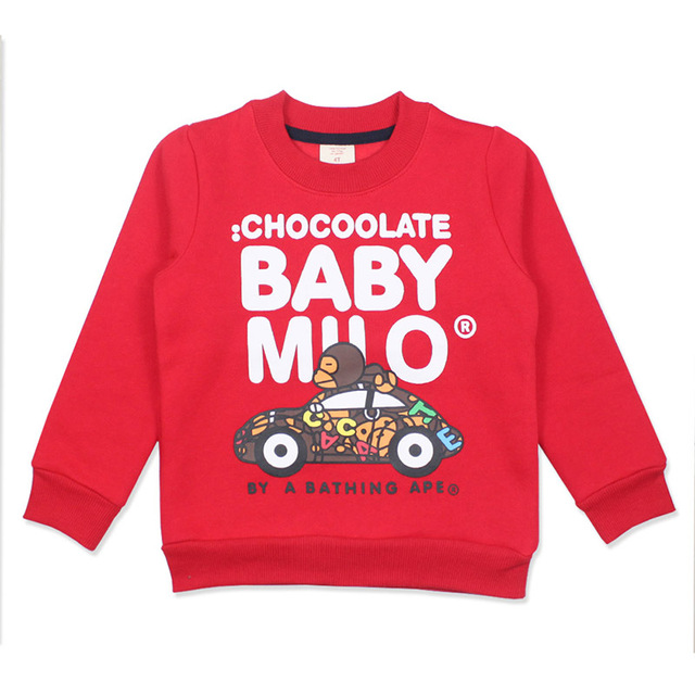 Autumn Winter Cotton Kids T Shirt MAKU Cartoon Monkey Car Children Pullovers Tee Boy Clothes Long Sleeve Baby Boys Girls T-Shirt