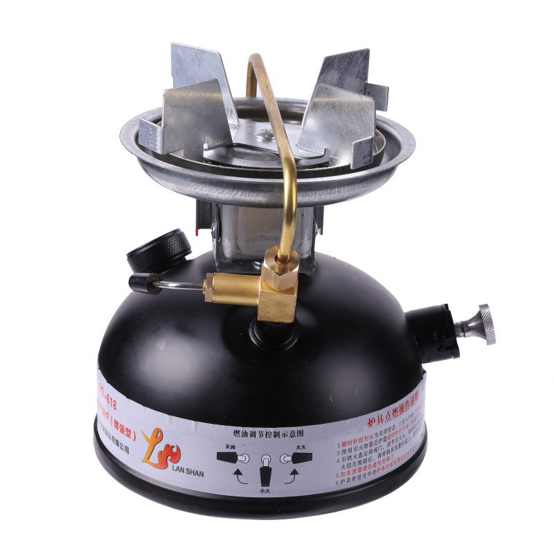 лучшая цена Newest stainless steel mini liquid fuel camping gasoline stoves and portable outdoor kerosene stove burners