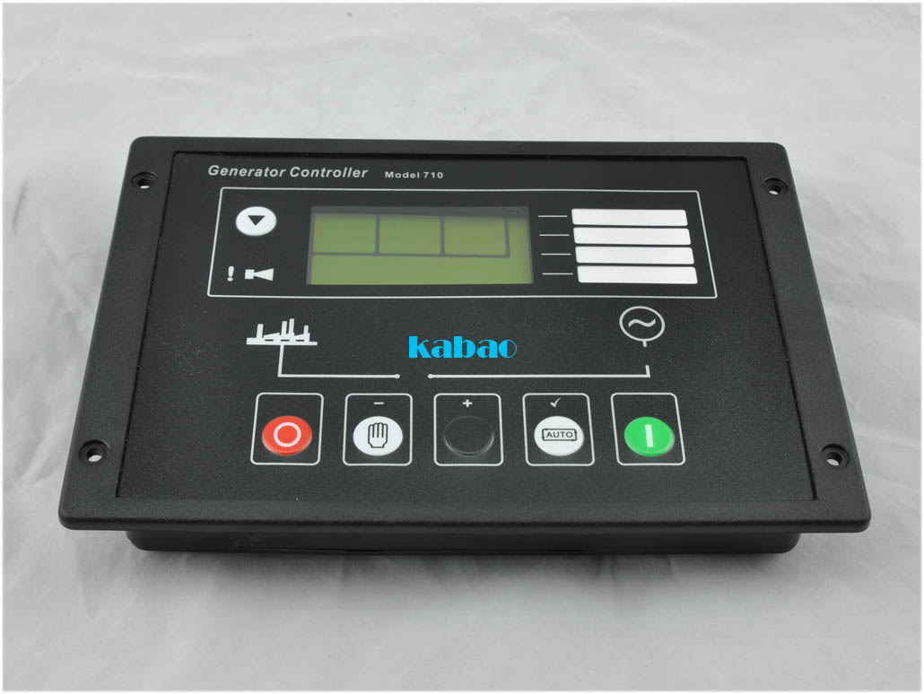 710 Auto Start Control Module diesel generator parts electronic circuit charge controller board LCD display genset monitors new hgm420n diesel generator set controller auto start genset electronic smartgen universal lcd display remote board controller