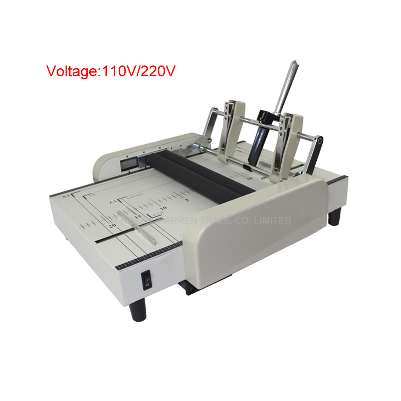 Plieuse de papier automatique A3 agrafeuse de papier électrique