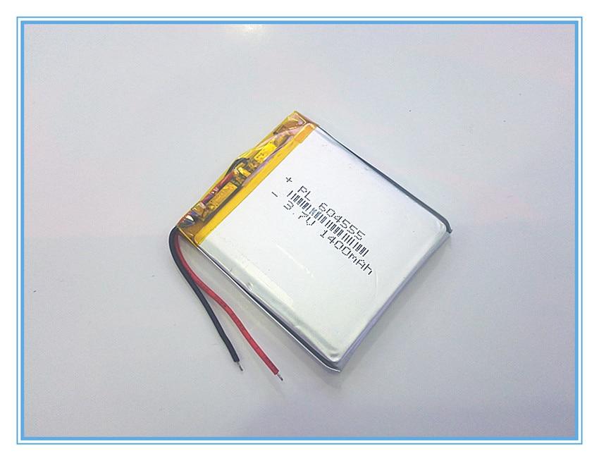 Free shipping 3.7V,1400mAH,[604555] PLIB; polymer lithium ion / Li-ion battery for dvr,GPS,mp3,mp4,cell phone,speaker