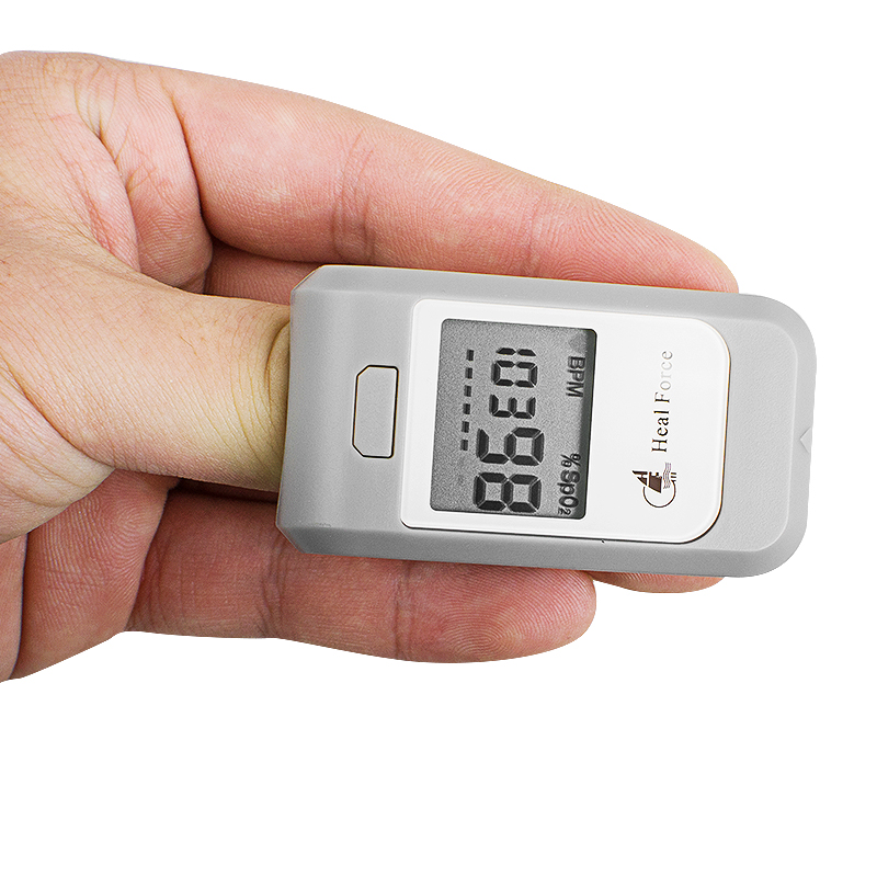 LCD Blood Oxygen Fingertip Pulse Oximeter Oxymeter SPO2 PR Monitor Gray Pulse Oximeter Finger 1 2 lcd digital clip on finger pulse oxygen blood oximeter w alarm orange white 2 x aaa