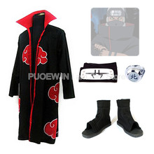 2014New Anime Uzumaki Naruto Kakuzu Akatsuki  Cosplay Costume Red cloak cosplay Full Set