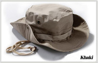 Fashion Camo Military Hat With Wide Brim Boonie Sun Hat